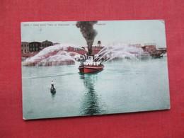 "Fire Boat  ""Geo.H.Williams "" Portland Oregon          Ref 3317 - Paquebots"