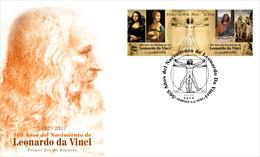Peru 2018 FDC Leonardo Da Vinci - Other
