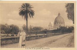 AK 0227  S. S. Pio X Nei Giardini Dei Vaticano Um 1903 - 1914 - Vatikanstadt