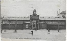 NANTES - LE MARCHE DE LA PLACE LAMORICIERE - ANIMEE - 1921 - Nantes