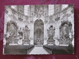 "Germany 1961 Postcard "" Benedictine Abbey "" Ettal To Munchen - President Theodor Heuss - Briefe U. Dokumente"