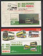 Hong Kong 2013 Hong Kong Buses, Bus, S/S + 3D S/S, MNH** - 1997-... Sonderverwaltungszone Der China