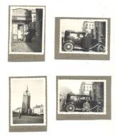 Lot Van 4 Foto's - KORTRIJK / COURTRAI - 1932 - Automobile, Oldtimer,...(b249) - Plaatsen