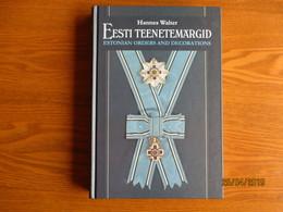 ESTONIAN ORDERS AND DECORATIONS 1998 , GREAT BOOK MANUAL , 0 - Badges