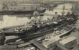 BREST  Le Masséna à L'Entrée Du Port De Guerre RV - Brest