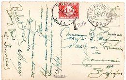 CV D'Allemagne (B.P.S. 1) Expédiée Indûment En Franchise - Taxée 1,80 F (TX58) - Taxes