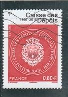 FRANCE 2016 - CAISSE DES DEPOTS OBLITERE YT 5045 - - France
