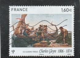 FRANCE 2016 CHARLES GLEYRE OBLITERE  YT 5069 (note) - France
