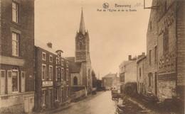 CPA - Belgique - Beauraing - Rue De L'Eglise Et De La Grotte - Beauraing