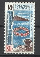 Polynésie Poste Aérienne N° 15  Oeuvre Des Cantines Scolaires   Neuf (  *  )     TB      ..soldé à Moins De 20 % ! ! ! - Posta Aerea