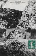 Quinson. Le Pont Et Les Gorges Du Verdon à L'entrée Du Village De Quinson. - Autres Communes