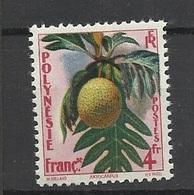 Polynésie Poste  N° 13  Flore Artocarpus     Neuf * *   TB  =  MNH  VF  ..soldé à Moins De 20 % ! ! ! - Polinesia Francese