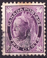 CANADA 1897 QV 2c Violet SG144 Used - 1911-1935 Reign Of George V