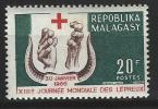 "Madagascar YT 418 "" Journée Des Lépreux "" 1966 Neuf** - Madagascar (1960-...)"