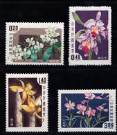 FLOWERS , ORCHIDS - TAIWAN , MNH - Orchidées