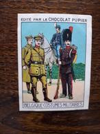 L20/86 Chromo Image Chocolat Pupier. Belgique. Costumes Militaires - Altri