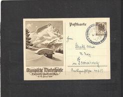 Olympische Spelen  1936 , Deutsche Reich - Winter 1936: Garmisch-Partenkirchen