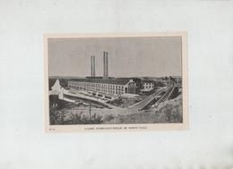 L'Usine Hydro Electrique De Sainte Tulle 1931 - Alte Papiere