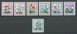 REUNION 1964/65 . Taxes . Série N°s 48 à 53 Et 54 . Neufs ** (MNH) - Reunion Island (1852-1975)