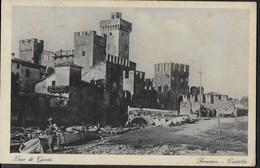 SIRMIONE - IL CASTELLO - FORMATO PICCOLO -  VIAGGIATA   1929 - Castelli