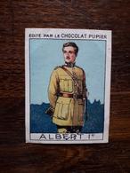 L20/90 Chromo Image Chocolat Pupier. Belgique. Albert 1er - Altri