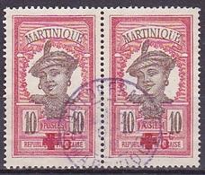 Martinique Paire N° 82 Neuve * - Voir Verso & Descriptif - - Martinique (1886-1947)