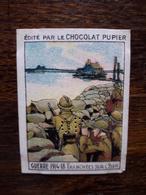 L20/92 Chromo Image Chocolat Pupier. Belgique. Guerre 1914/18. Tranchées Sur L'Yser - Altri