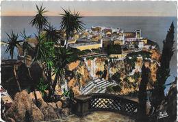 MONACO - Le Rocher Vu Des Jardins Exotiques - 1949 - Multi-vues, Vues Panoramiques