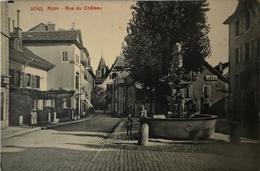 Suisse (VD) Nyon // Rue Du Chateau 1950 - VD Vaud