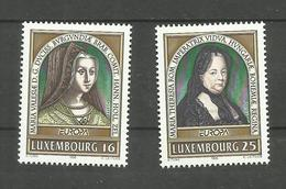 Luxembourg N°1340, 1341 Neufs** Cote 3.50 Euros - Luxemburgo
