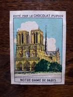 L20/96 Chromo Image Chocolat Pupier. France. Notre Dame De Paris - Altri