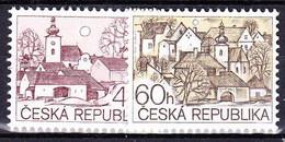 ** Tchéque République 1995 Mi 71-2, (MNH) - Czech Republic