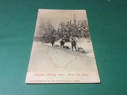 QUÉBEC.  Canadian Hunting Scène. Going Into Camp - Autres