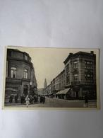 Charleroi // Rue Neuve (animee) Ca 1939 Bijzondere Stempel - Charleroi