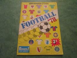 "FOOTBALL ""78"" - Album Collector Sans Images (64 Pages) - Livres"