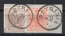 PETRINIA , PETRINJA , CROATIA - Used Stamps