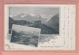 OUDE POSTKAART ZWITSERLAND  -  SCHWEIZ -       MUOTTAS MURAGL - ED. TANNER  1905 - GR Grisons