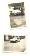 2 Photos (+/- 8 X 11 Cm ) D'une Citroen DS Break Dont Une Montée En Voiture Radio - Oldtimer, Automobile (sp3) - Auto's