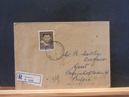 79/515A   LETTRE  RECOMM  JOEGOSLAVIE  POUR LA BELG. - Lettres & Documents