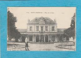 Saint-Dizier. - La Place De La Gare. - Saint Dizier