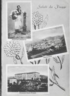 SALUTI DA FIUGGI  - ALTEROCCA TERNI - VIAGGIATA 1956 - Saluti Da.../ Gruss Aus...