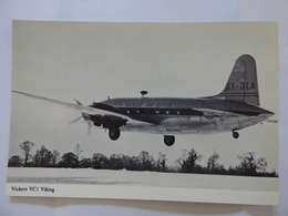 DANISH AIR LINES  VICKERS VIKING    OY-DLA - 1946-....: Era Moderna