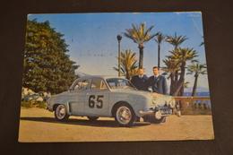 Carte Postale 1962 Rallye Monte Carlo Dauphine N°65 - Rallyes