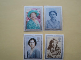 1990  Grande Bretagne Yv 1469/72  ** MNH Queen Elisabeth Cote 10.00 € Michel 1275/8  Scott 1327/0 SG 1507/10 - Nuovi