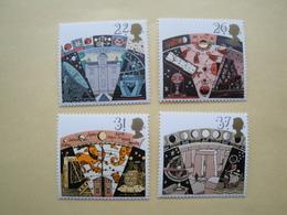 1990  Grande Bretagne Yv 1490/3  ** MNH Astronomie Cote 6.00 € Michel 1296/9  Scott 1336/9 SG 1522/5 - 1952-.... (Elizabeth II)