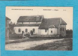 Hoëricourt, Petit Village Disparu. - L'Église. - Environs De Saint-Dizier. - Autres Communes