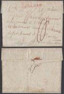 "1750 ""N°22 GRANDE ARMEE"" VERS LA FRANCE (DD) DC-2912 - Postmark Collection (Covers)"