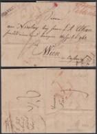 """LETTRE DATE DE STAVELOT 30/05/1830 VERS WIEN """"FRANCO COBLENTZ"""" SUP (DD) DC-2917 - 1830-1849 (Belgique Indépendante)"""