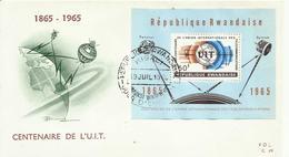 RWANDA SOBRE CENTENARIO DEL UIT - Rwanda