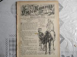 DER GUTE KAMERAD N°4  8. JAHRGANG 1895 - Autres